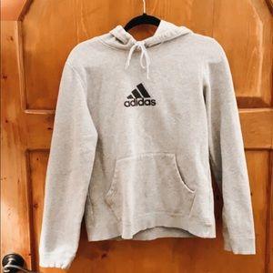 Adidas - Grey Comfy Hoodie